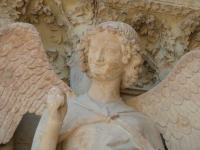 Kathedraal Reims, lachende engel