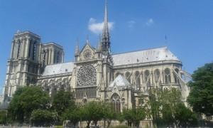 Notre Dame in Parijs op onze Brugge-Parijs cruise
