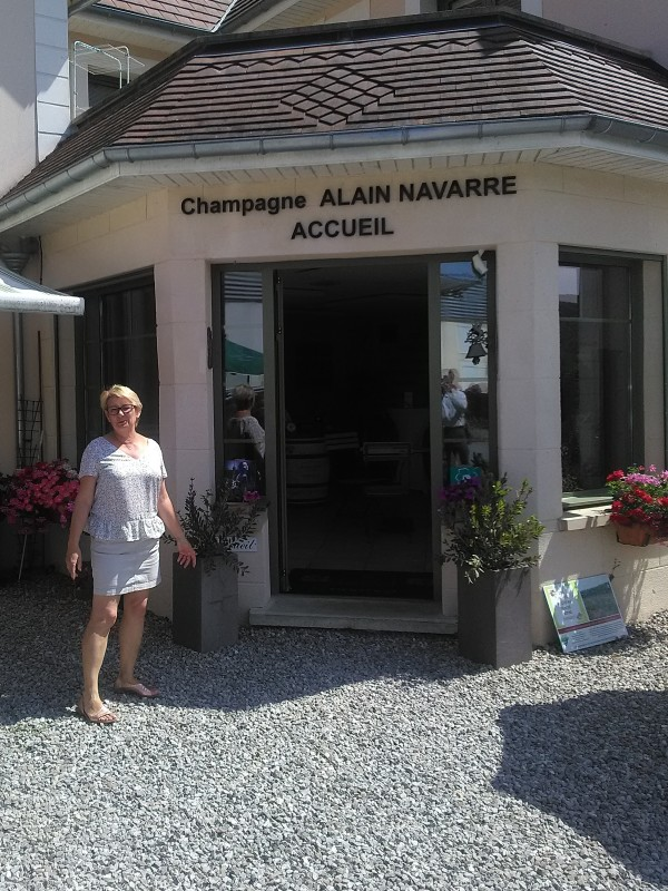 Alain Navarre Welcome with Joëlle