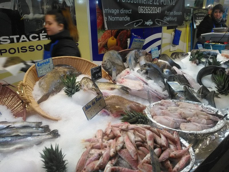 Fish at Lagny market