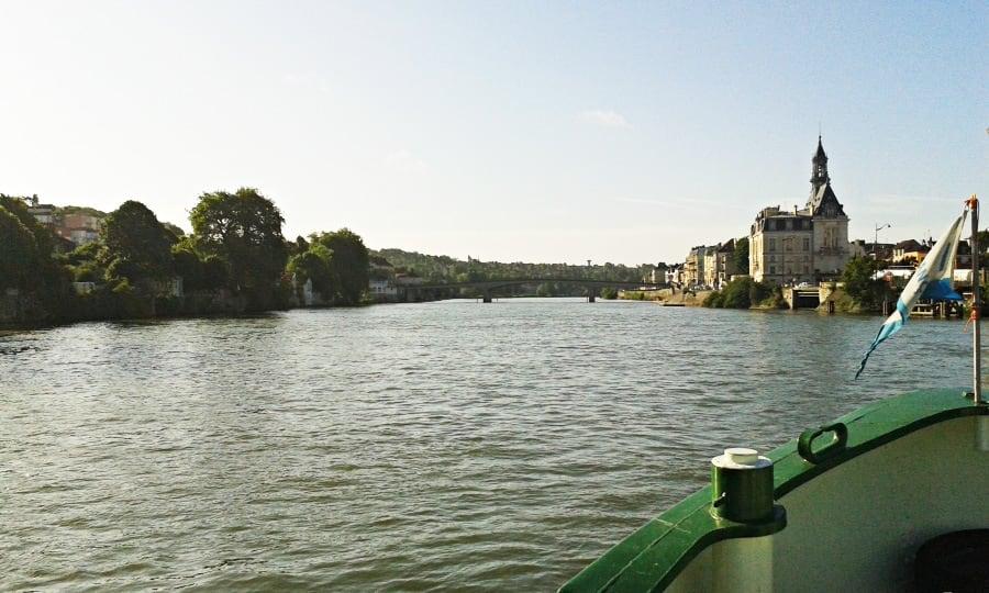 Johanna on the Upper Seine