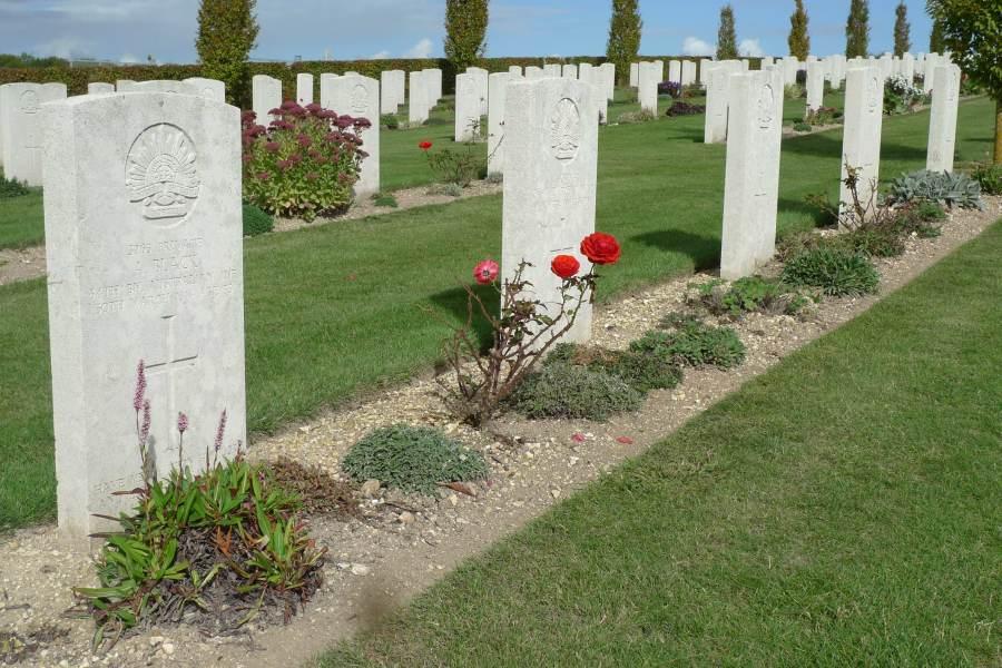WW1 graveyard