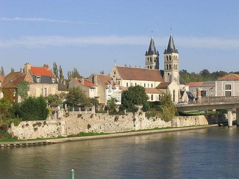 Eiland Saint Etienne in Melun