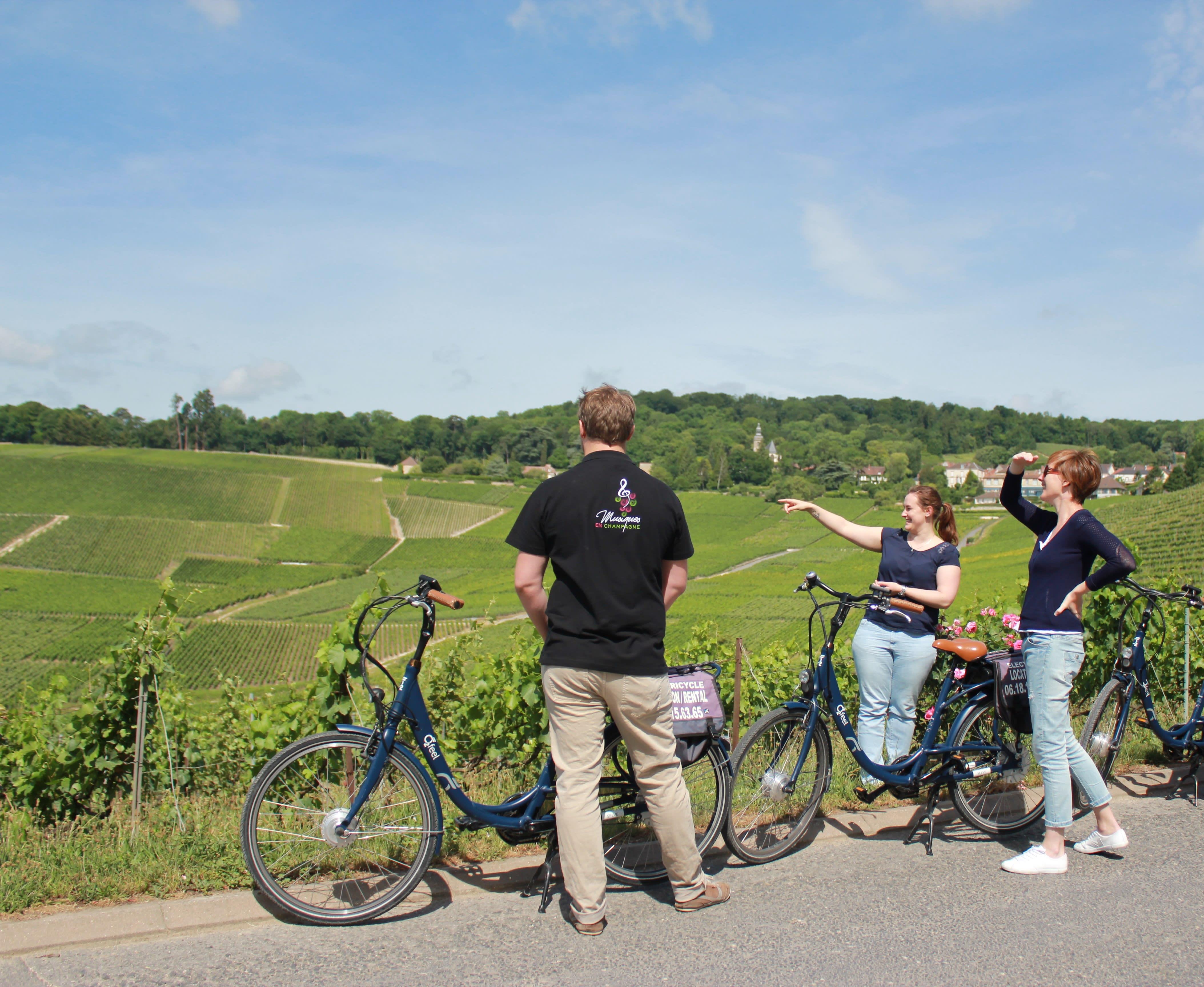 Fietstocht per e-bike rond Hautvillers