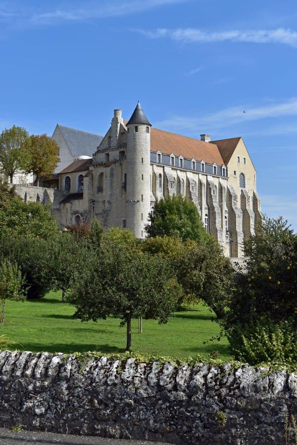 Abbey Saint-Séverin in Château-Landon
