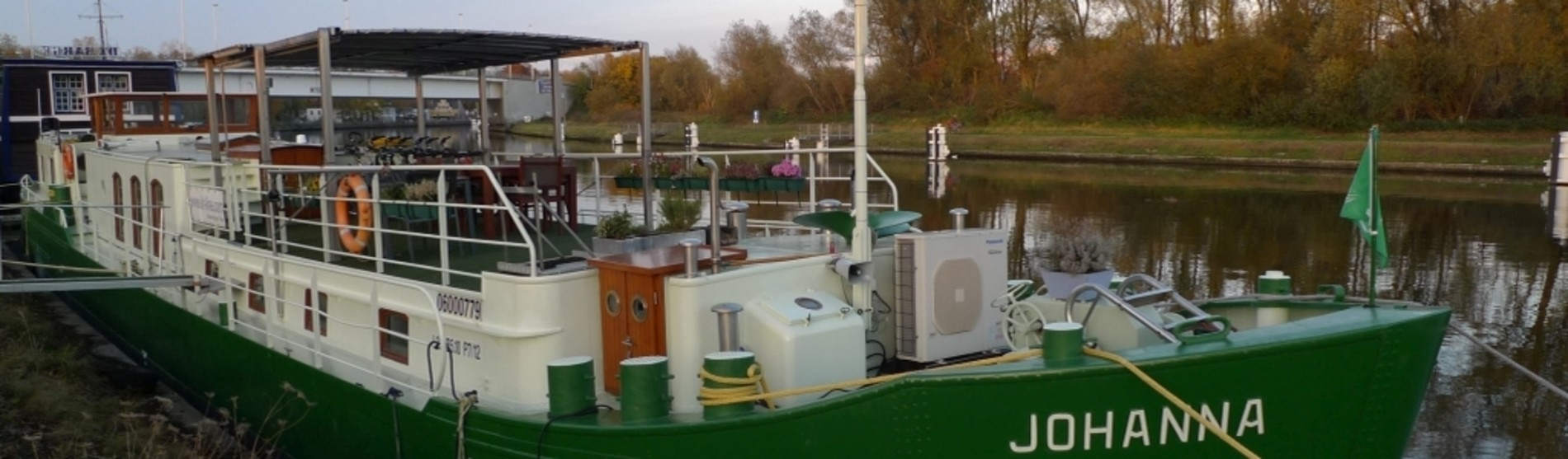 B&B Barge Johanna à Bruges