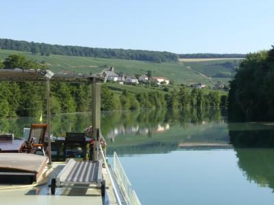 Varend op de Marne
