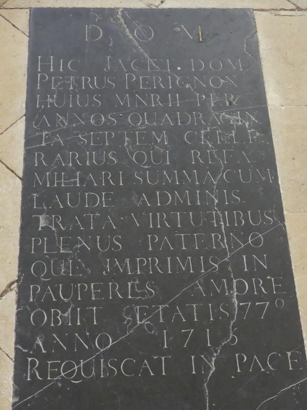 toombstone Dom Perignon, Hautvillers