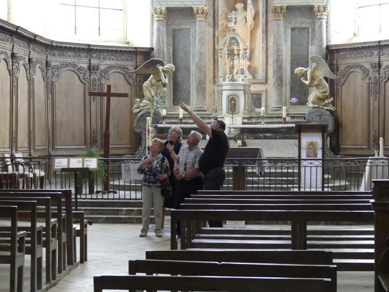 A visit to Hautvillers' church
