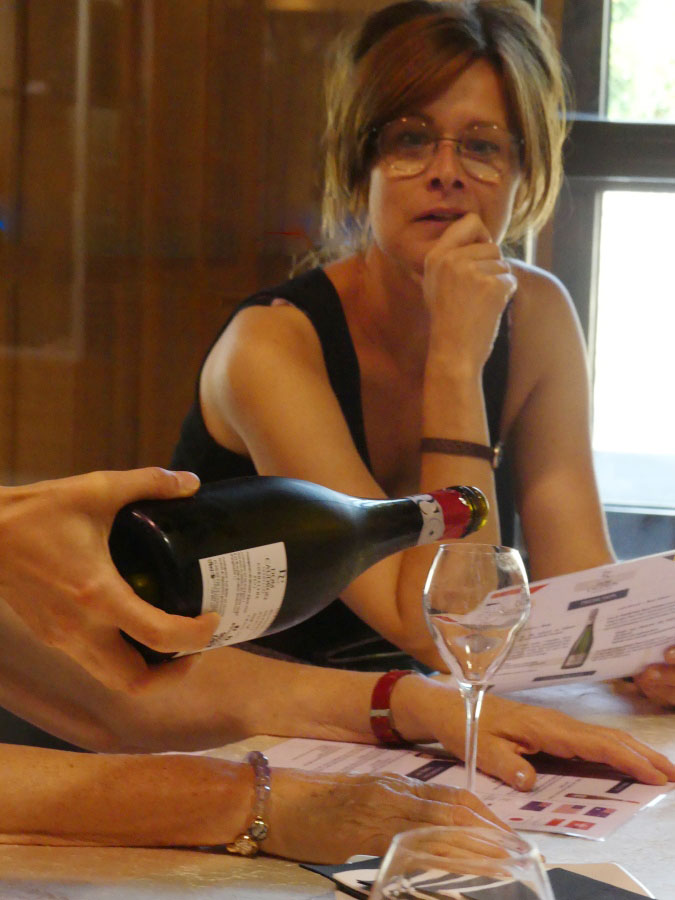 Champagne tasting at Dom Caudron on a champagnebarge visit
