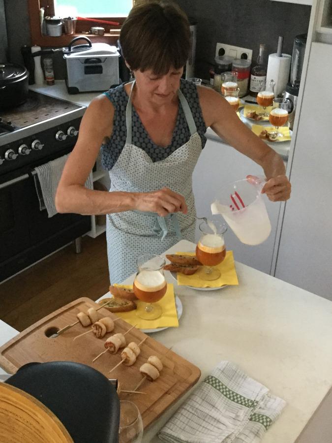 Patsie in the kitchen