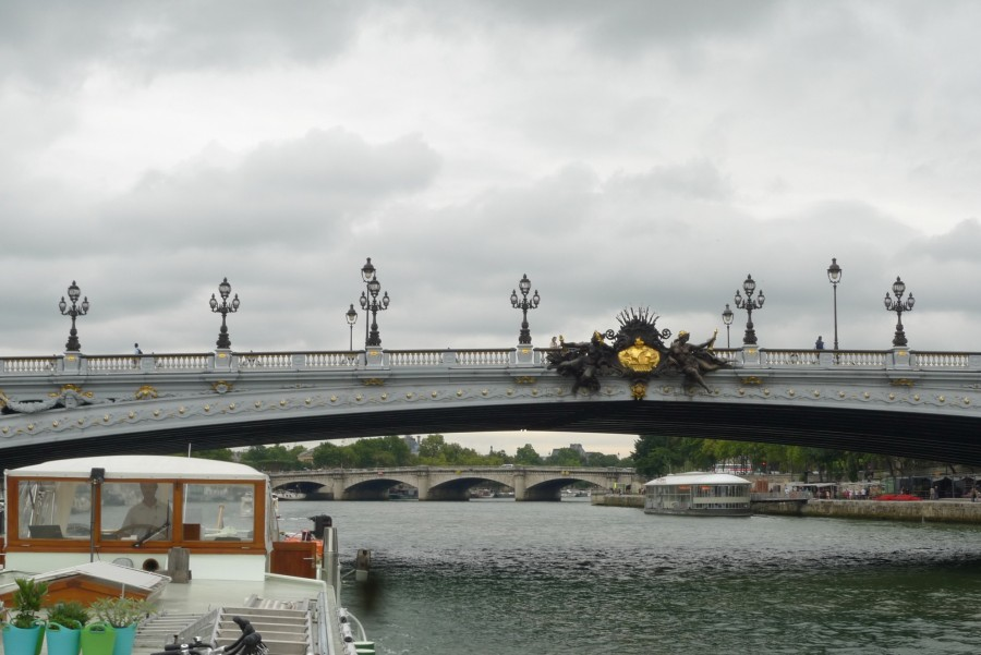 On the Seine, bridges of Paris
