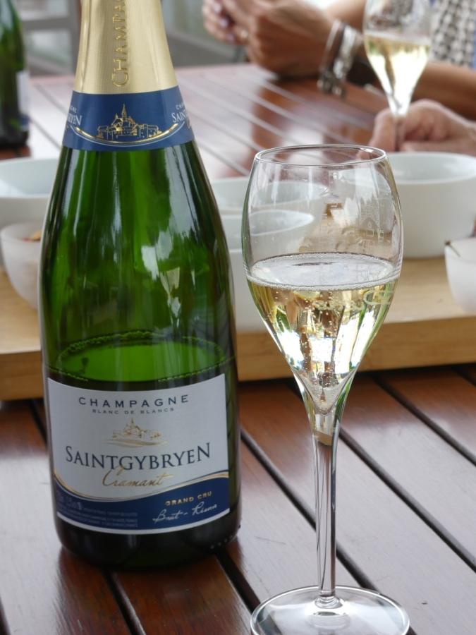 Heerlijke champagne drink