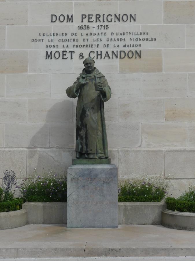 Dom Perignon bij Moet et Chandon