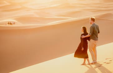Flitterwochen, Marokko