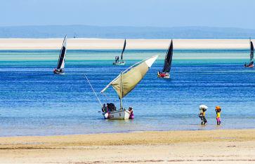 Fischfang, Mosambik