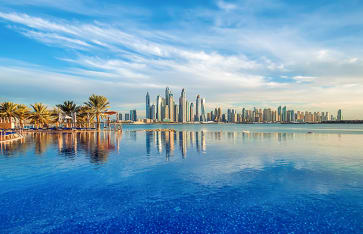 Swimmingpool, Dubai