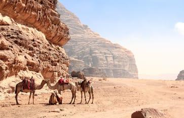 Wadi Rum, Jordanien