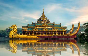 Karaweik, Burma