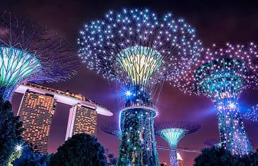 Garten Supertree, Singapur