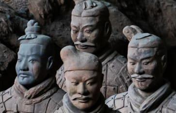 Emperor Qinshihuangs Mausoleum Site Museum, Lintong, Xian, Shaanxi, China