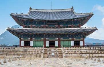 Gyeongbok Palast, Südkorea