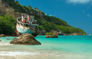 Sandy Ground, Anguilla, Karibik