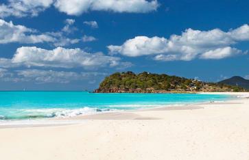 Ffryes Beach, Antigua, Karibik