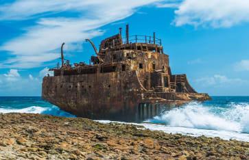 Schiffswrack, Curacao