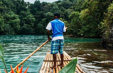 Blaue Lagune, Jamaika, Karibik
