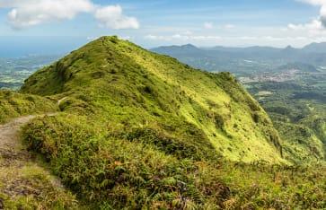 Mount Pelee, Martinique, Karibik