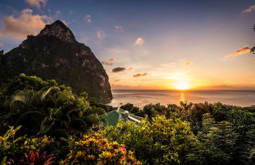 Pitons, St. Lucia, Karibik