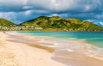 Orient beach, St. Martin, Karibik