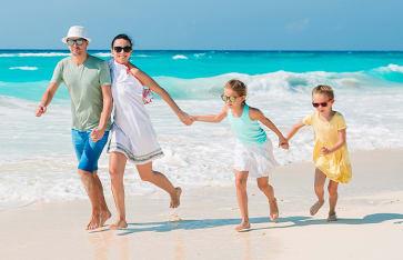Reisen mit Kindern, Turks / Caicos, Karibik