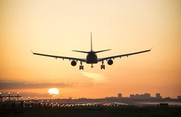 Reiseinformationen, Flugzeug
