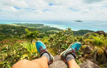 Chenard Mountain, Praslin, Seychellen