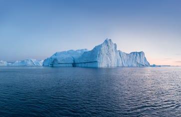 Eisberg in Grönland, Arktis