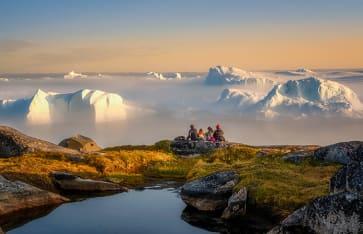 Disco Bay Westküste Grönland, Arktis