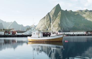 Reine, Lofoten Inseln, Norwegen, Skandinavien