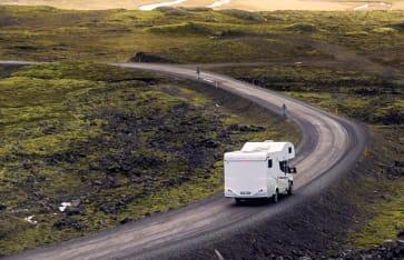 Wohnwagen,Camper, Island