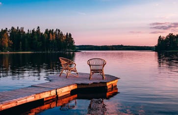 Finnische Seenplatte, Finnland