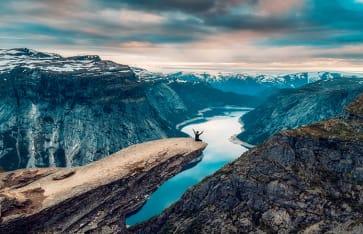 Trolltunga, Norwegen