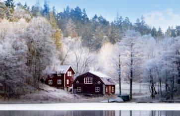 Landhaus am See, Schweden