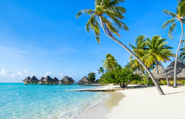 Luxuriöses Resort auf den Malediven