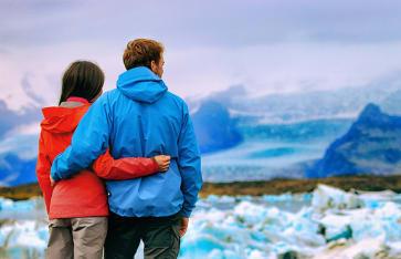 Wanderung als Liebespaar, Chile