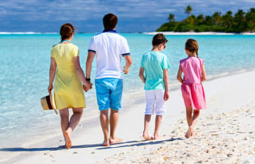 Familienreise, Cook Islands