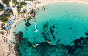 Zypern, Ayia Napa, Nissi Beach