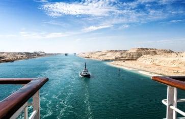 Suezkanal Kreuzfahrt