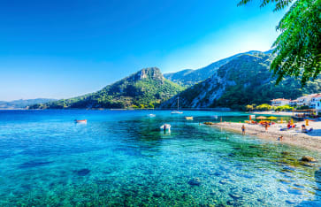 Samos, Strand