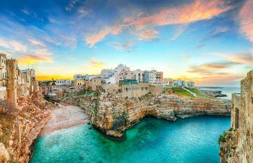 Apulien Stadtbild